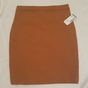 NWT Twik woman XS brown pencil skirt